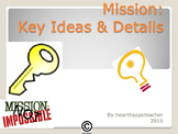 Non-Fiction Graphic Organizer Mission Possible