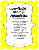 Non-Fiction Graphic Organizer Pack