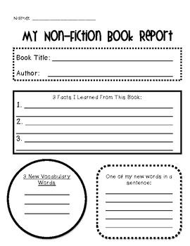 Non-Fiction Graphic Organizer Pack