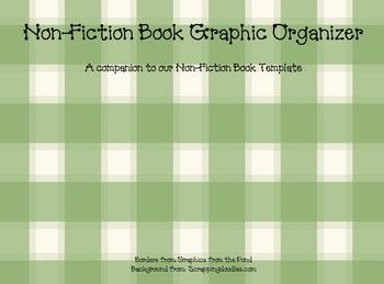 Graphic Organizer for Writing Non-Fiction Books
