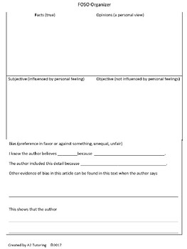 Free Non Fiction Graphic Organizers