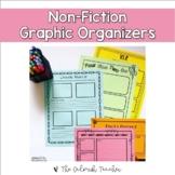 Non-Fiction Graphic Organizers (Digital Version Incl. for