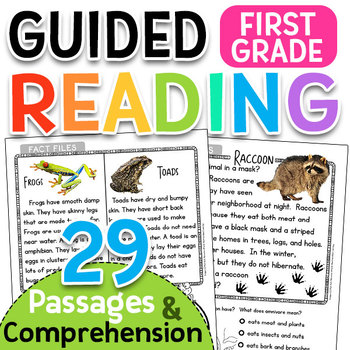 Non-Fiction Guided Reading Passages & Comprehension