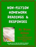 Nonfiction Readings & Responses