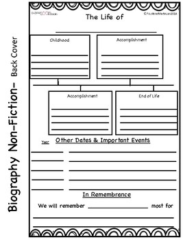 Non-Fiction Informational Cereal Box Book Report- 6 Templates to Choose From!