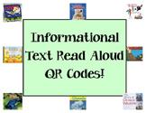 Non-Fiction/Informational Read Aloud QR Codes!