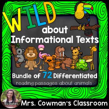 Informational/ Non-Fiction Reading Comprehension Passages BUNDLE