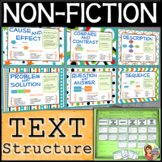 Non-Fiction Text Structure (Sort, Posters, Organizers)