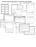 Non Fiction / Informative 22 Custom Writing Papers & Graphic Organizers