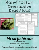 Non-Fiction Interactive Read Aloud Mini Lessons: Mosquitoes by Margaret Hall