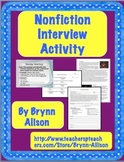 Nonfiction Interview Activity - Common Core Aligned