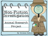 Non-Fiction Investigation: Animal Research