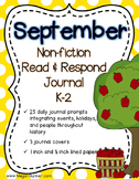 Non-Fiction Read & Write Journal {25 Prompts for September}