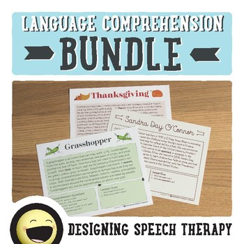 Non-Fiction Language Comprehension Bundle