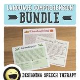 Non-Fiction Language Comprehension Bundle for Speech and L