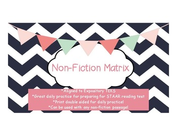 Non-Fiction Matrix