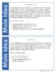 Main Idea Test Prep Task Cards: Non-Fiction Mini-Passages