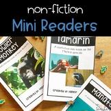Nonfiction Mini Readers- Unusual Animals