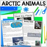 Nonfiction Reading- Close Reading & Writing K-2 Arctic Animals