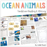 Ocean Animals   Nonfiction Reading Passages and Lessons
