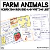 Farm Animals Nonfiction Reading Passages and Lesson Plans