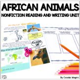 Nonfiction Reading - Close Reading & Writing - African Animal  Edition