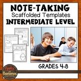 Note-Taking Templates - Intermediate