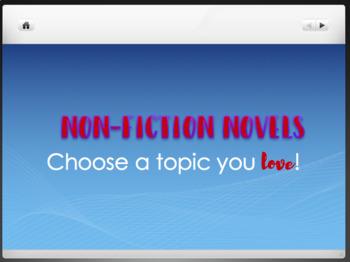 Non-Fiction Novel Book List / Slide Show