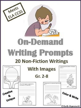 Non-Fiction On-Demand Writing Prompts