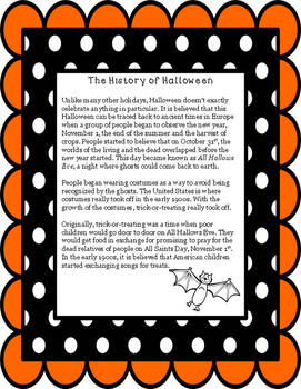 Non-Fiction Paired Passage Dia de los Muertos and Hallowee