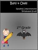 Bats Owls Reading Comprehension Unit