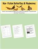 Butterfly Reading Comprehension Unit