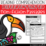 Non-Fiction Passages - Differentiated reading comprehensio