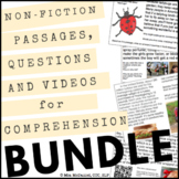 Non-Fiction Passages, Questions & Videos for Reading or Li