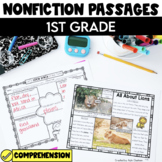 Non Fiction Passages: 1st Grade Edition {Level G-J}