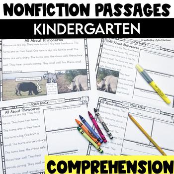 Non Fiction Passages: Kindergarten Edition {Level C-D}