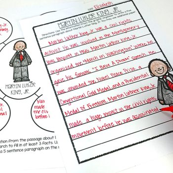 Nonfiction Passages for Black History: Comprehension, Vocabulary and More!