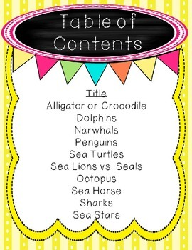 Non-Fiction Comprehension and Fluency Passages-Water Creatures
