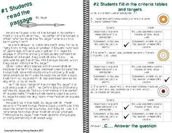 Non-Fiction Passages for Strategic Test Prep-Main Idea, Text Structure, Vocab.