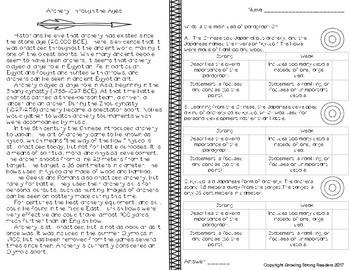 Non-Fiction Passages for Strategic Test Prep-Short Assessments