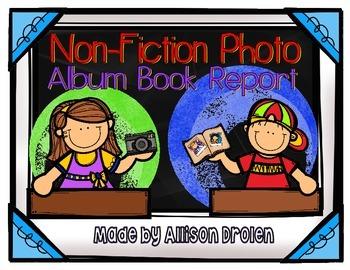 Non-Fiction Photo Album Project