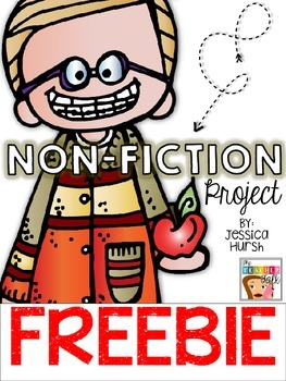Non-Fiction Project FREEBIE