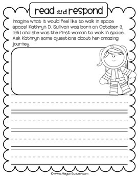 Non-Fiction Read & Write Journal {25 Prompts for October}