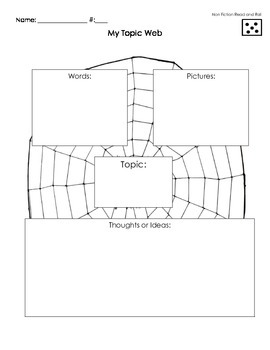 Non Fiction Read and Roll Worksheets (High Ability Level)