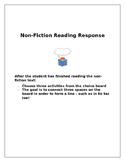 Non-Fiction Reader Response