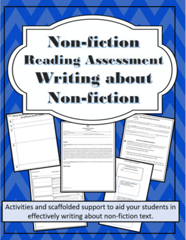 Non-Fiction Reading Assessment-Writing about Non-fiction Text