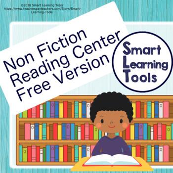 Non Fiction Reading Center Student Response Sheet