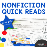 Non-Fiction Reading Passages with Text-Aligned Questions [Editable]