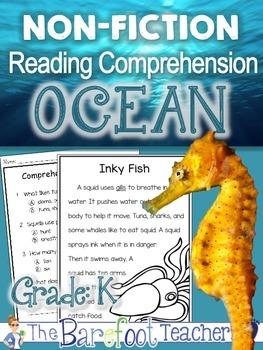 Ocean - Non Fiction Reading Comprehension Passages