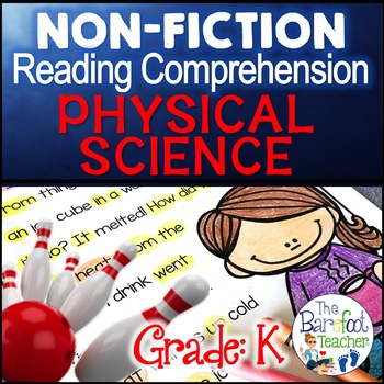 Physical Science Reading Comprehension Passages and Questions Non Fiction